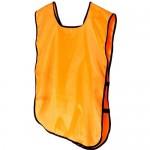 Манишка тренировочная односторонняя, оранжевая