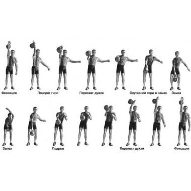 Гиря для кроссфита Titan 8 кг чугунная