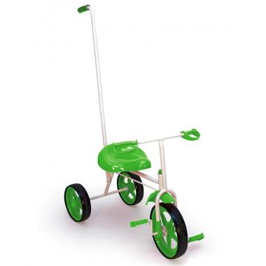 Велосипед трехколесный с держателем Absolute Champion BUMER (лайм)