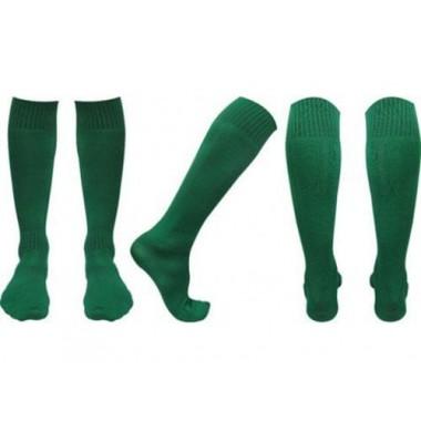 Гетры футбольные зеленые р. 43-45
