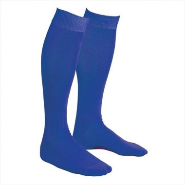 Гетры футбольные синие р. 39-41