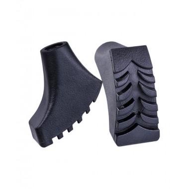 Комплект наконечников Berger для скандинавских палок 2 шт., чёрный