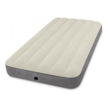 Односпальный надувной матрас Intex 64101 Twin Deluxe Single-High Airbed (191х99х25 см)