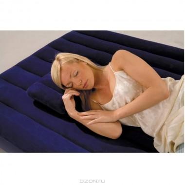 Надувная подушка флокированная Intex 68672 Royal (43х28х9см)