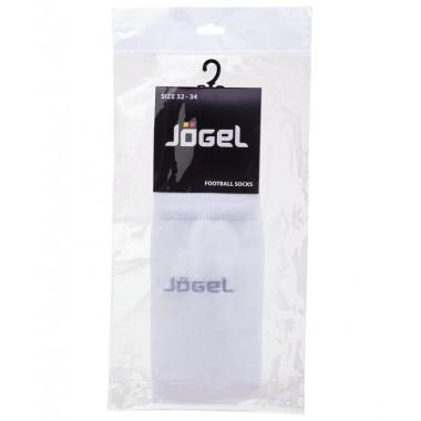 Гетры футбольные Jogel JA-001 р.32-34 белый/серый