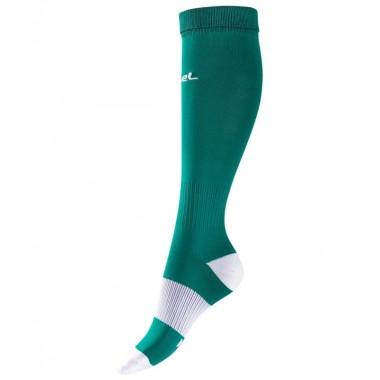 Гетры футбольные Jogel JA-001 р.32-34 зеленый/белый