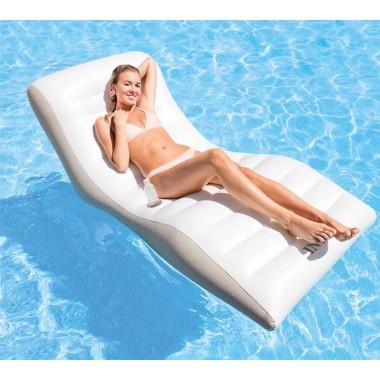 Надувное кресло-шезлонг для плавания Intex 56861