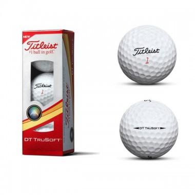 Мяч для гольфа Titleist DT TruSoft арт.T6033S
