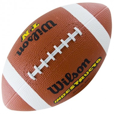 Мяч для американского футбола WILSON TN Official Ball арт.WTF1509XB