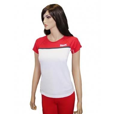 Футболка женская для фитнеса Kampfer Flame red