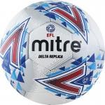 Мяч футбольный Mitre Delta Replica р.5 арт.BB1981WHL