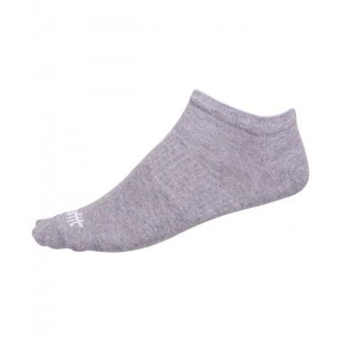 Носки низкие StarFit SW-205 р.35-38 2 пары белый/светло-серый меланж
