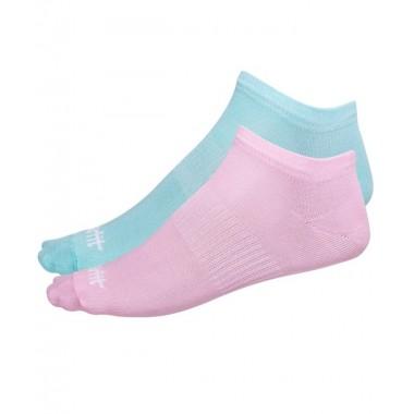 Носки низкие StarFit SW-205 р.35-38 2 пары мятный/светло-розовый