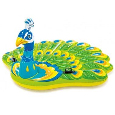 Надувной матрас-игрушка Intex 57250EU «Павлин» Peacock Island