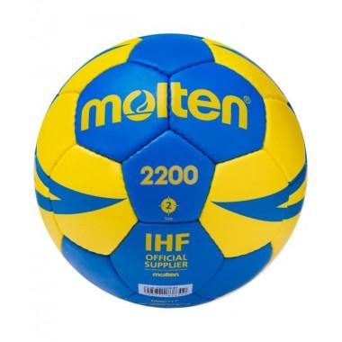 Мяч гандбольный Molten H2X2200-BY р.2