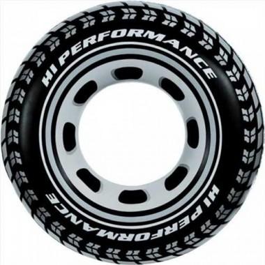 Круг для плавания в виде шины Intex 59252NP 91см 9+