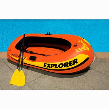 Лодка надувная двухместная Intex 58331NP Explorer (185х94см)