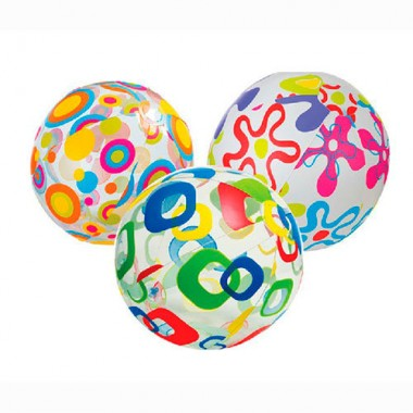 Надувной мяч Intex 59040NP Lively Print Ball (51см, 3+)