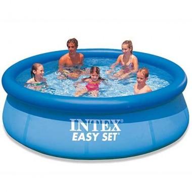 Надувной бассейн Intex 28143NP Easy Set Pool (396х84см)