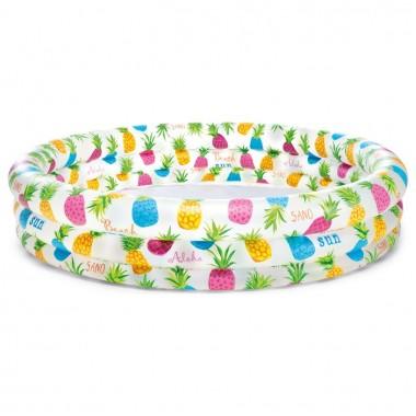 Надувной бассейн для детей Intex 59431NP Fishbowl Pool (132х28см) 3+