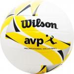 Мяч волейбольный Wilson AVP II Recreational арт.WTH30119XB р.5 18 панелей, композит.кожа ПВХ, маш.сшивка, бело-желто-черный