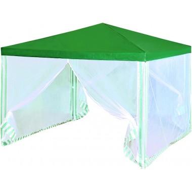 Тент садовый из полиэстера Green Glade арт.1028 (3х3х2,5м) зеленый