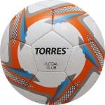 Мяч футзальный Torres Futsal Club арт.F31884 р.4