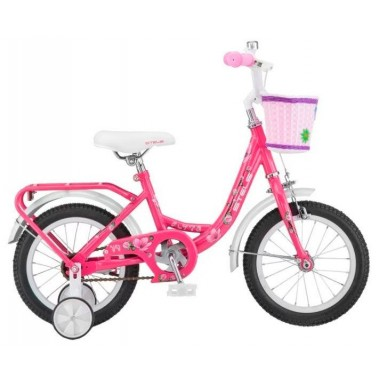 Велосипед детский STELS Flyte Lady 14  (2018) рама 9,5 розовый (LU080239)