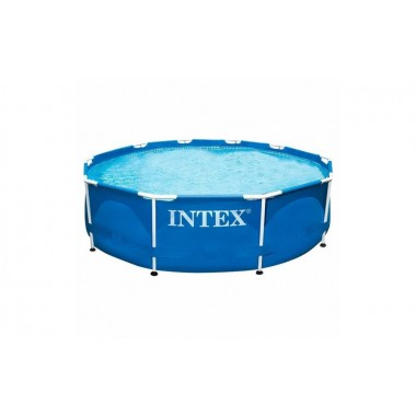 Круглый каркасный бассейн Intex 28200 Metal Frame (305х76см)