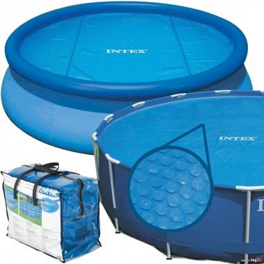 Согревающее солнечное покрывало для круглых бассейнов Intex 29021 (59952) (305 см)