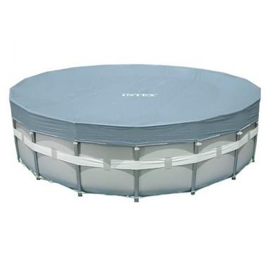 Покрывало (тент) для круглых каркасных бассейнов Intex 28041 (549см)