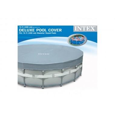 Покрывало (тент) для круглых каркасных бассейнов  Intex 28040 (57901) (488 см)