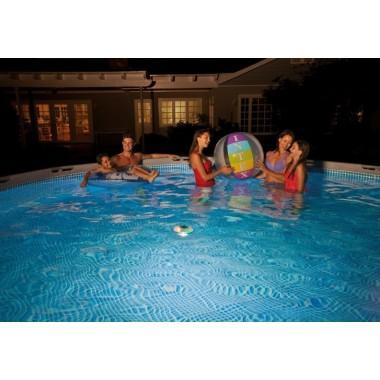 Подсветка плавающая для бассейнов Intex 28695 Solar Powered LED Floating Light