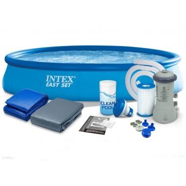 Надувной бассейн Intex 26168 Easy Set Pool (457х122см)