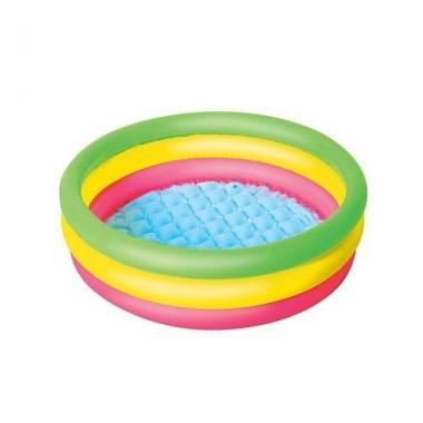 Детский круглый бассейн Bestway 51128 (70х24см) 41 л