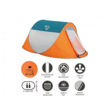 Палатка туристическая Bestway 68006 NuCamp 4-местная (240х210х100см)