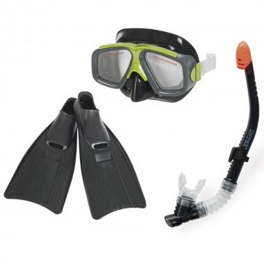 Набор для плавания Intex 55959 Surf Rider Sports Set (ласты (размер 41-45), маска и трубка)