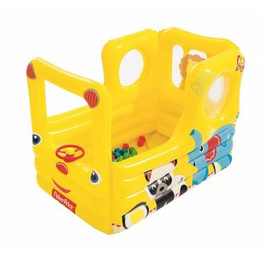 Игровой центр Bestway 93506 Школьный автобус с 20 шариками 2+
