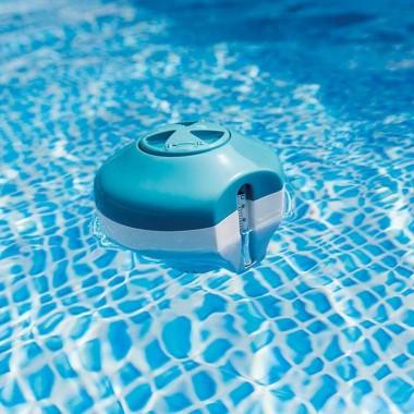 Поплавок-дозатор с термометром Intex 29043