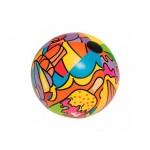 Мяч пляжный Bestway 31044 Поп-арт (91 см)