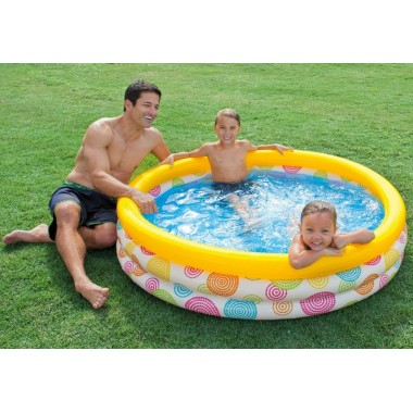 Надувной детский бассейн Intex 59419NP Cool Dots Pool 3+
