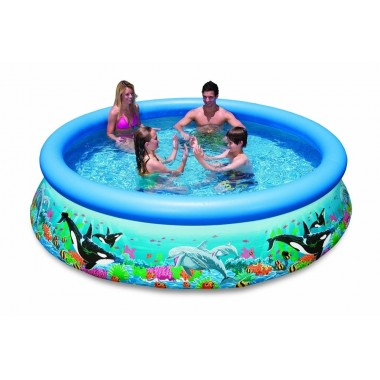 Надувной бассейн Intex 28134 Ocean Reef Easy Set Pool (366х76см)