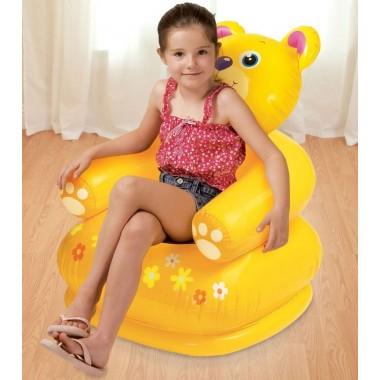 Детское надувное кресло Intex 68556 Happy Animal Chair