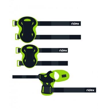 Комплект защиты Ridex Rapid, зеленый р.M