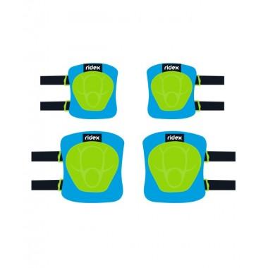 Комплект защиты Ridex Zippy, синий р.M