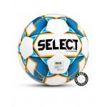 Мяч футбольный SELECT Diamond IMS 810015 р.4 белый/синий/оранжевый