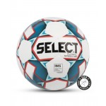 Мяч футзальный SELECT Futsal Mimas Light арт.852613 р.4 белый/синий/розовый