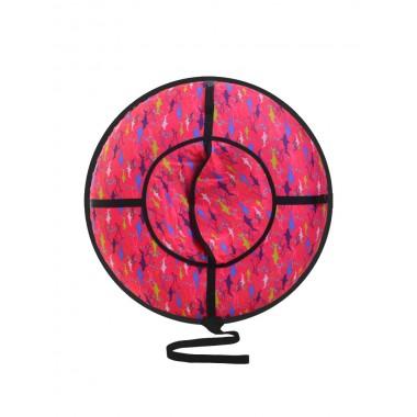 Надувные санки (тюбинг) серия Дизайн с молнией 110 см ВСД/5М