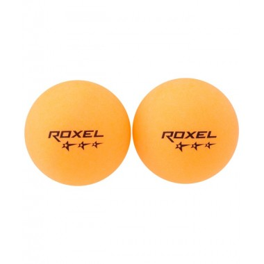 Мяч для настольного тенниса Roxel Prime 3* оранжевый, 6 шт.