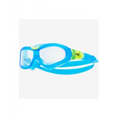 Маска для плавания TYR Orion Swim Mask Kids, LGORNK/105, голубой